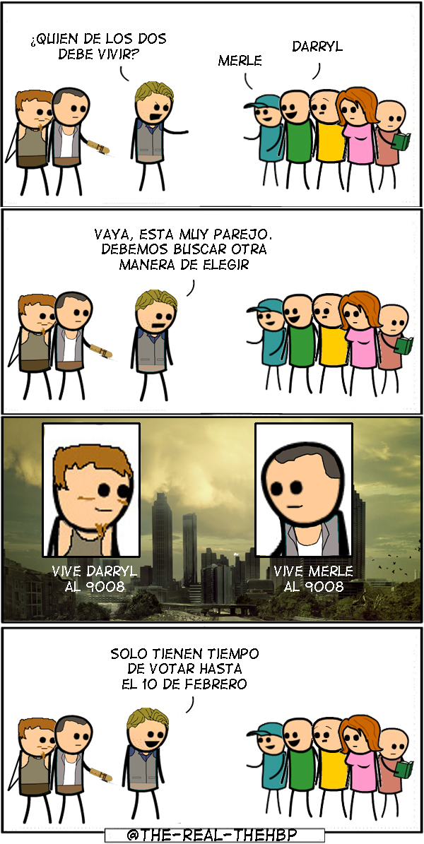 The Walking Dead a lo Cyanide and Happiness Parte 2