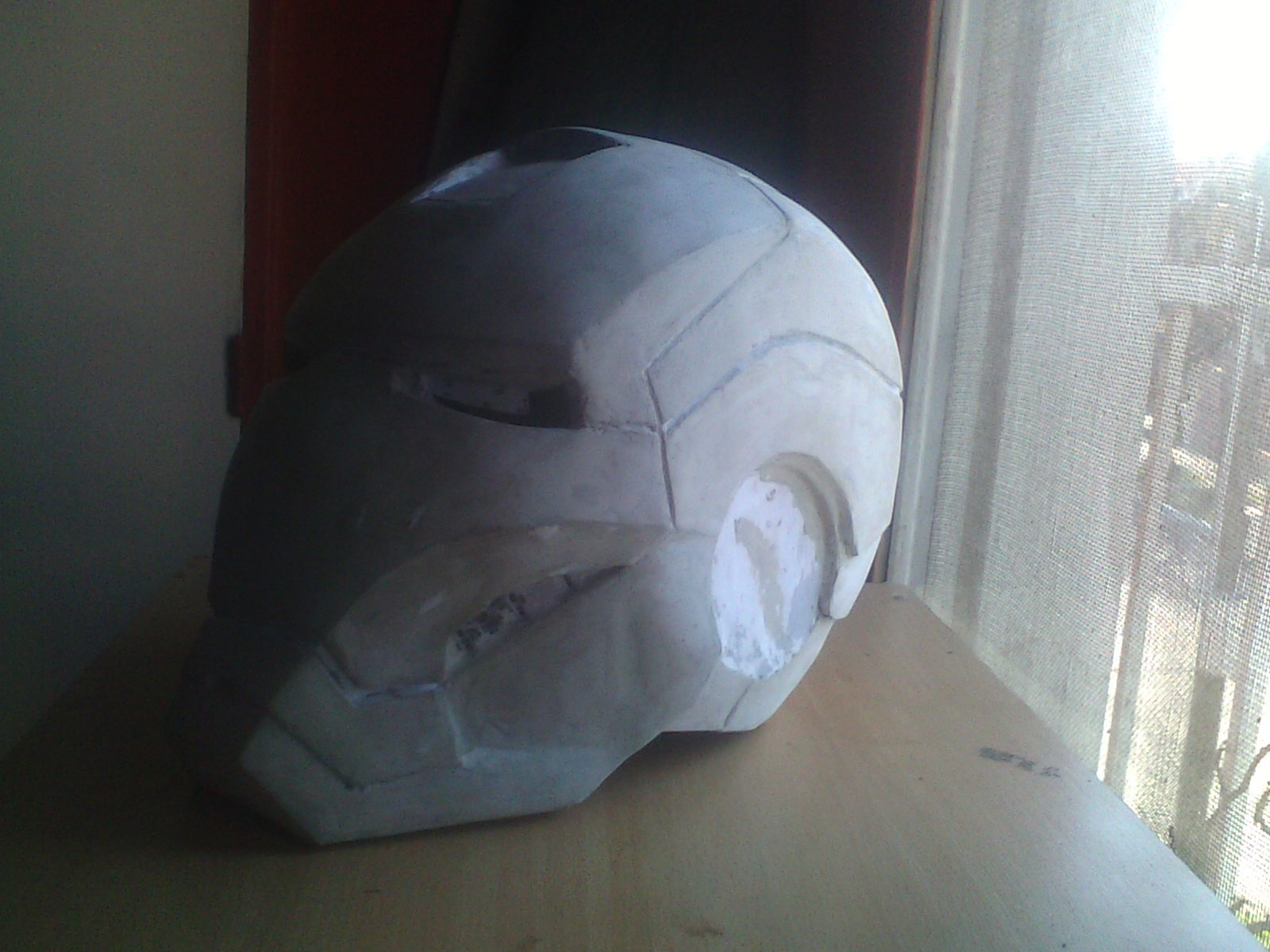 Mi Casco de Iron Man (Mark VI) [Propio]