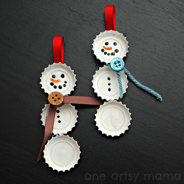 Christmas decorations you can make yourself.  Socialphy