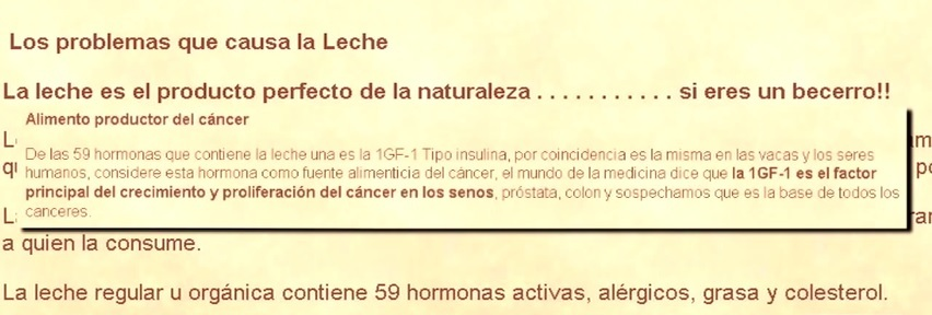 [Aporte] El secreto de la leche ¡Don't Drink Your Milk!
