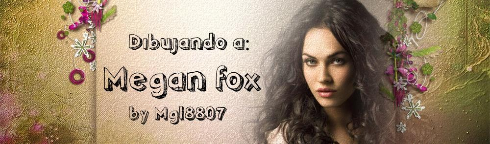Dibujando a Megan Fox by mgl8807