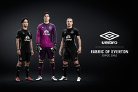 NUEVA UMBRO EVERTON 14-15 HOME AND AWAY KITS