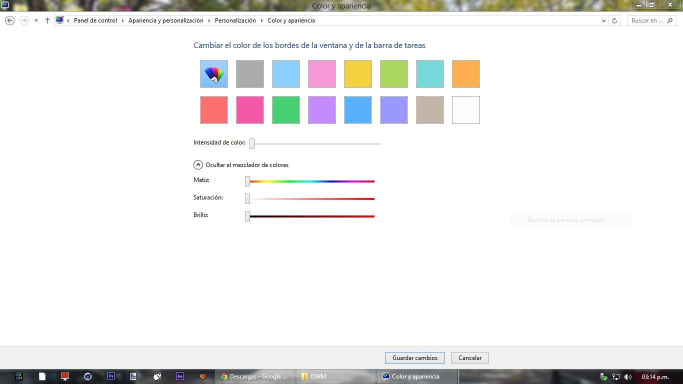 Activar Aero en Windows 8 sin fallas - Funciona al 100%!