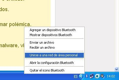 Bluetooth USB para PC de escritorio (habilitar FTP y LAN)