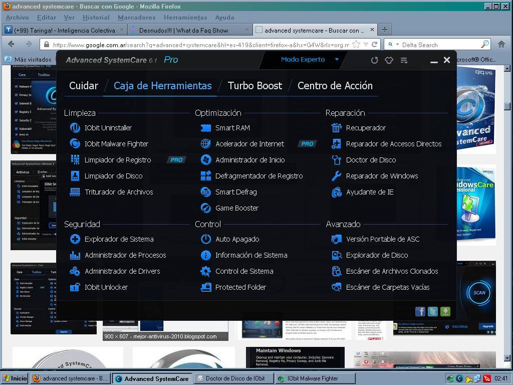 Serial advanced Systemcare -Vigente 2013