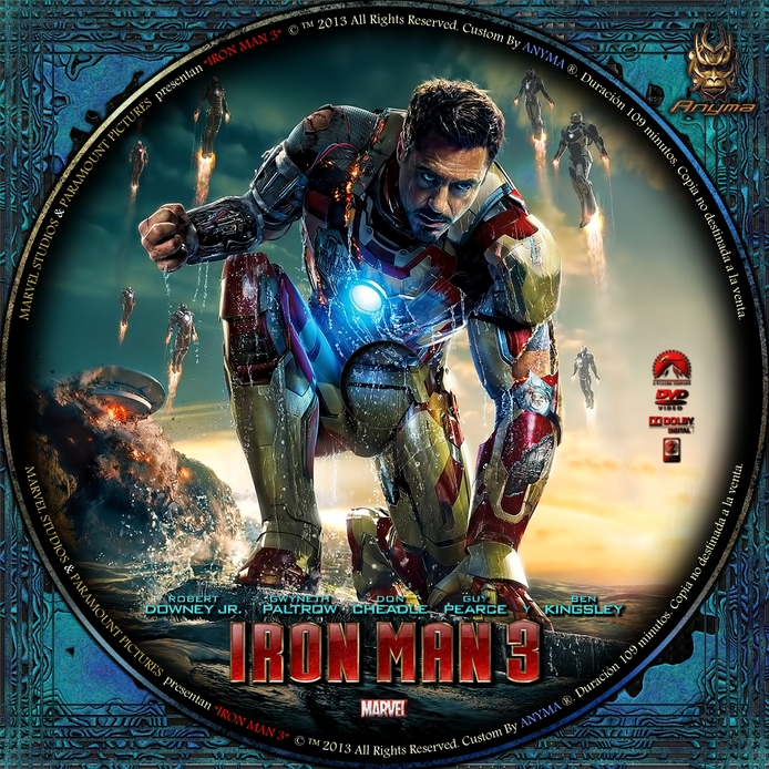 [Pelicula]Iron Man 3 (2013) [Descarga][Latino][AVI][Zs]