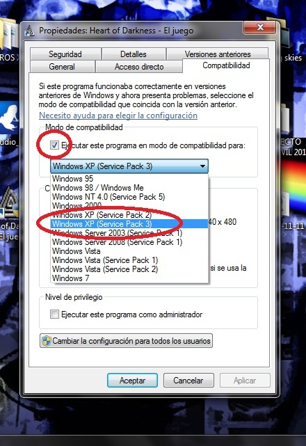 instalar drivers de xp en windows vista y windows 7