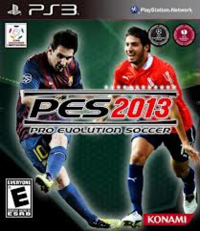PES 2013, Top Portadas del Pro Evolution Soccer.