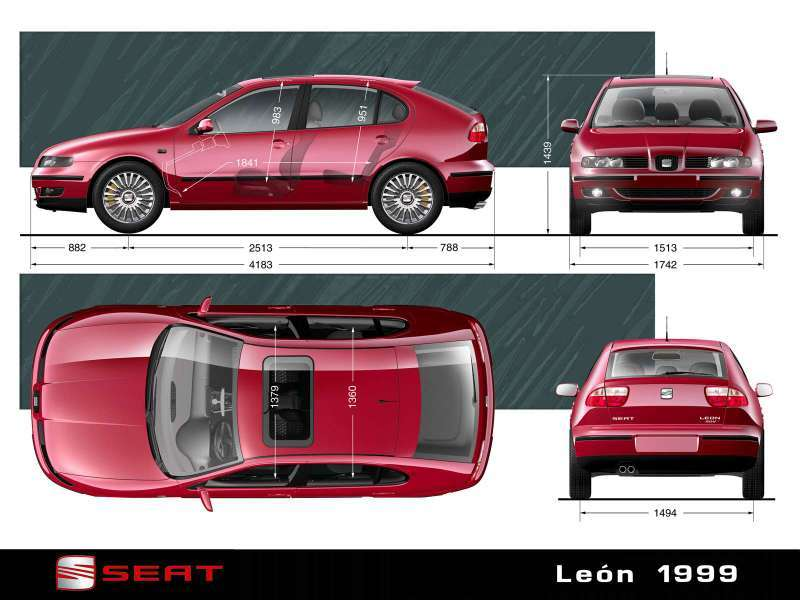 seat leon 1999 imagenes taringa. Black Bedroom Furniture Sets. Home Design Ideas