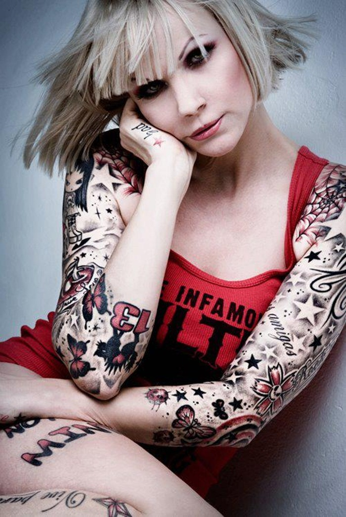 100 arm tattoo designs for girls - 600×897