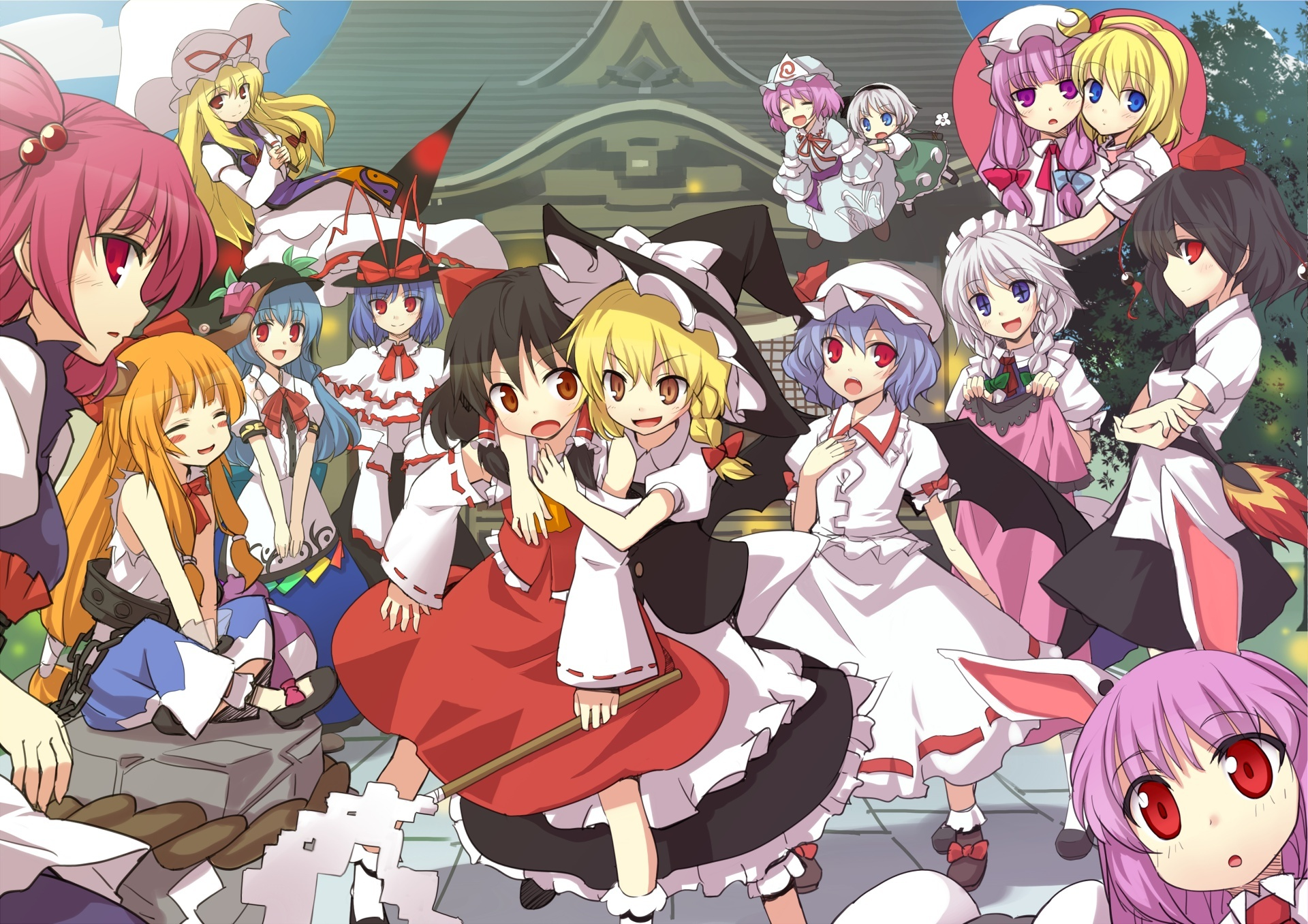 4 Pics 1 Anime Characters : Aporte touhou anime project mp mega