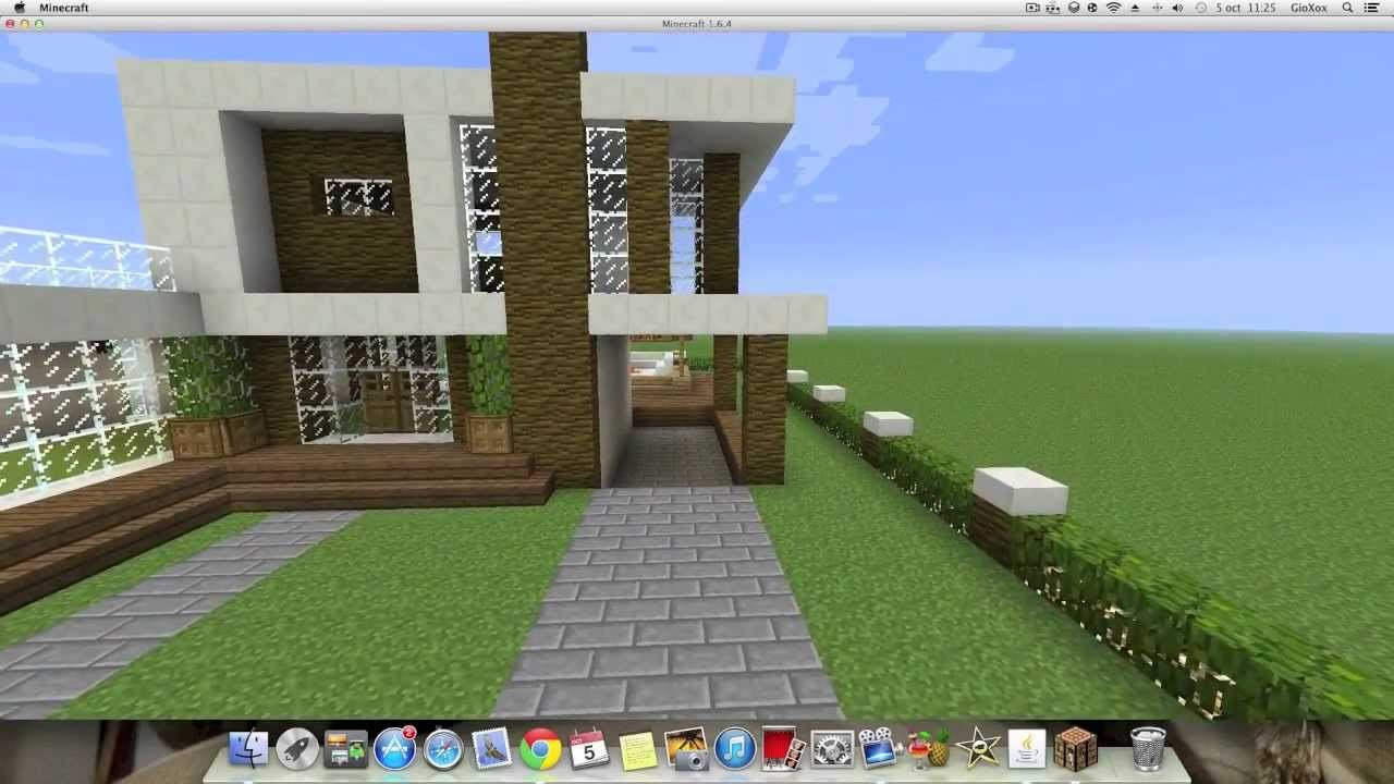 Casas minecraft modernas minecraft casa moderna no for Download gratuito di piani casa moderna