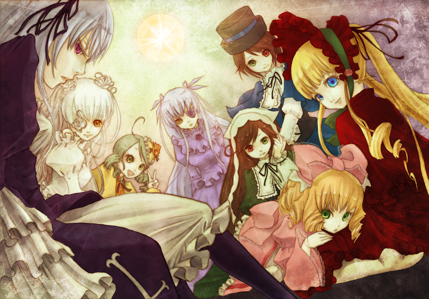 Rozen Maiden Wallpapers Hd Manga Y Anime En Taringa